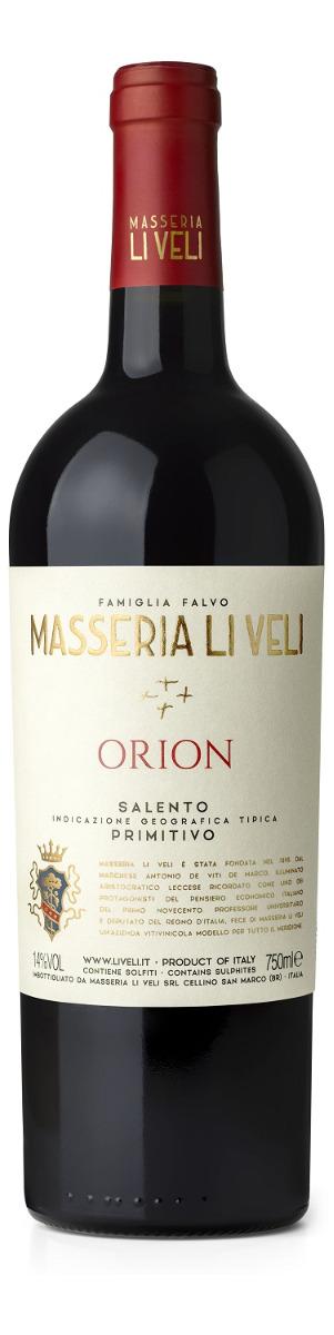 Masseria Li Veli Orion Saneto IGT Primitivo 2018