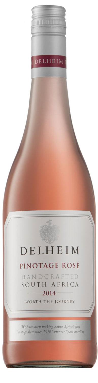 Delheim Pinotage Rosé (2015)