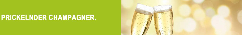 Prickelnder Champagner bei Vinum Nobile