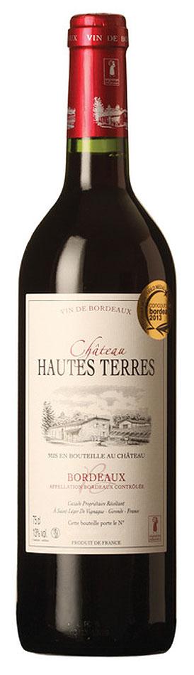 Chateau Hautes Terres Bordeaux 2019