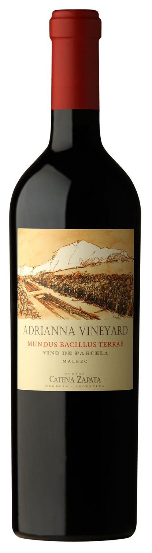 Adrianna Vineyard Mundus Bacillus Terrae Vino de Parcela Malbec 2013