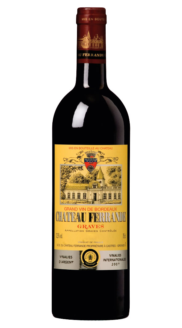 Chateau Ferrande Graves Rouge 2015