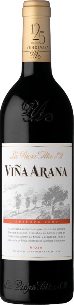 La Rioja Alta S.A. Vina Arana Reserva 2011