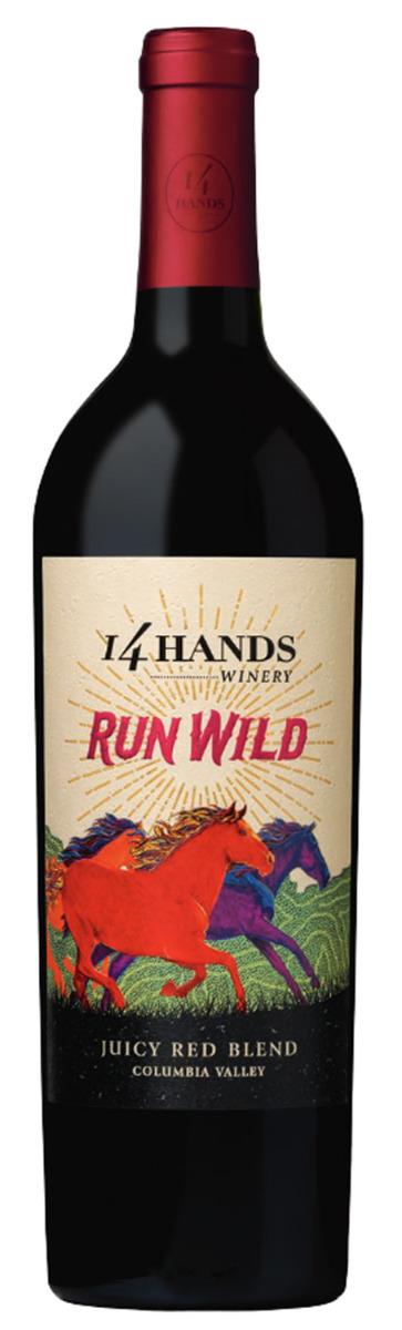 14 Hands Winery Run Wild 2016